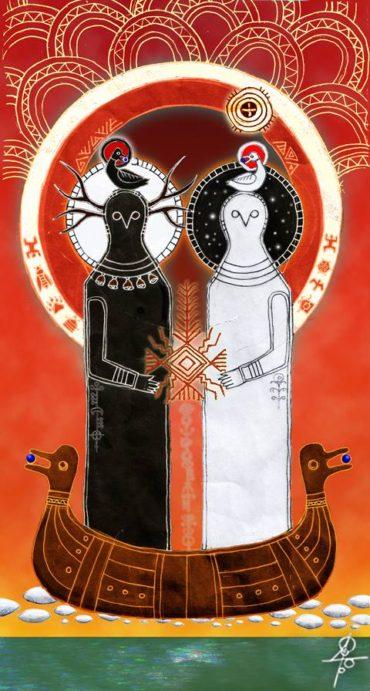 białobóg i czarnobóg